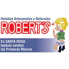 Logotipo Helados Robert's