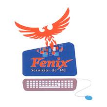 Logotipo Fenix Servicio De Pc