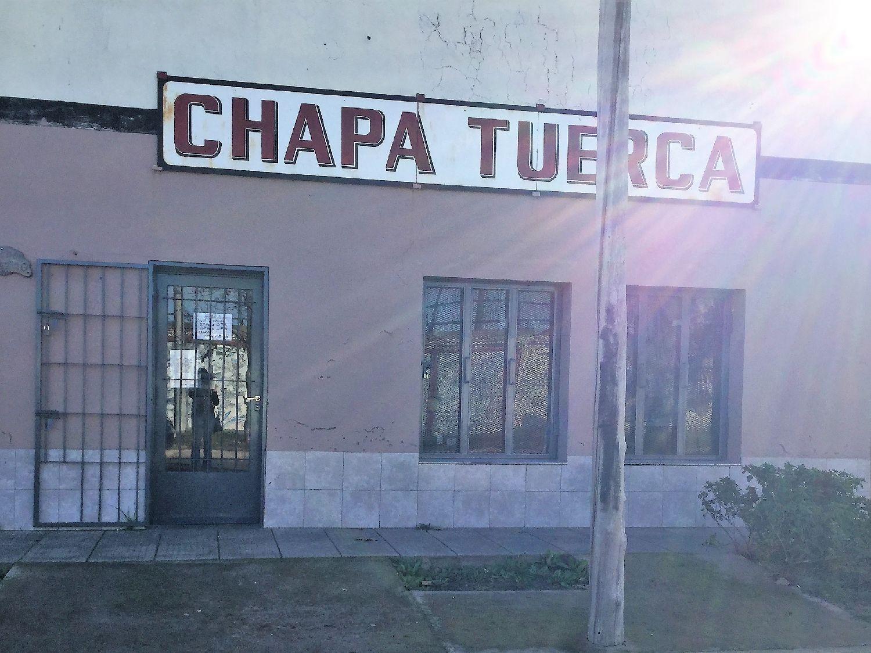 Logotipo Chapa Tuerca